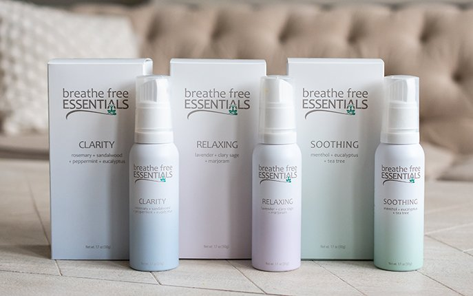 Breathe Free Essentials, Clarity,Relaxing, and Soothing